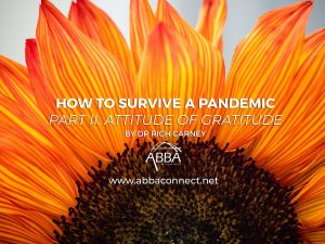 How to Survive a Pandemic Blog Part II